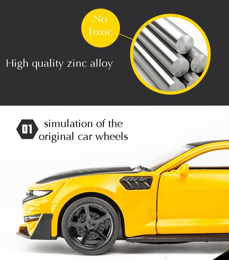 Chevrolet Camaro High Quality Alloy Toy Car 16x6.5x4.6 cm 34
