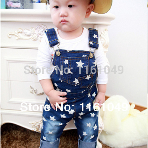 new 2017 spring autumn summer fashion children denim overalls for kids boys baby jumpsuit pants jeans retail free shipping