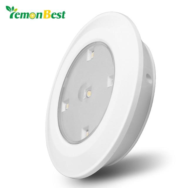 Merveilleux Lemonbest Wireless LED Tap Light Battery Operated Stick On Lights White  Lamp For Closets Under