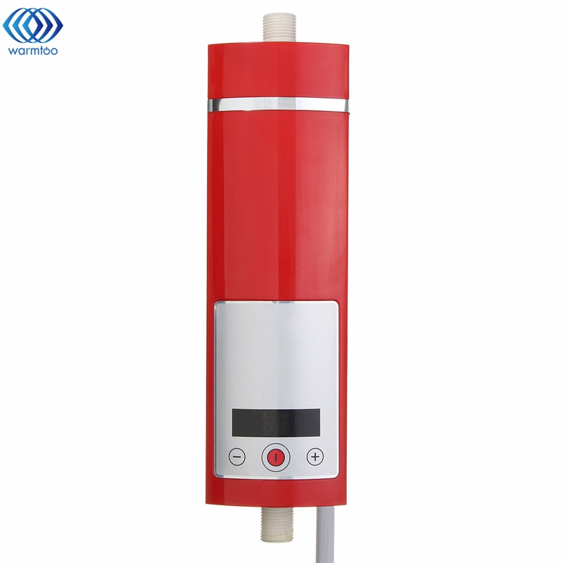 все цены на Digital Display Instant Electric Hot Water Heater 5500W Intelligent Temperature Control Touch Type Shower Room New Upgrade