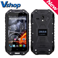 "Original iMAN i6 3G WCDMA Mobile Phone IP68 Waterproof Dustproof Shockproof 4.7"" MTK6592 Octa Core 1.57GHz ROM 16GB Smartphone"