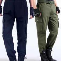 Pantalons de travail pour hommes réparation automobile assurance du travail soudage usine vêtements de travail pantalons coton vêtements de sécurité pantalons porter DYF002