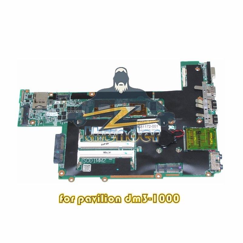 581172-001 582566-013 for HP Pavilion DM3 DM3-1000 laptop motherboard TMZL625 CPU DDR2 for hp pavilion tx1240ef notebook 441097 001 laptop motherboard for amd ddr2 100% fully tested working