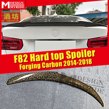 For BMW F82 M4 Coupe Trunk spoiler wing M4 style 4 series 420i 430i 2 door Hard Top High kich Forging Carbon Fiber wings 2014-18 электромобили hebei bmw 2 series coupe