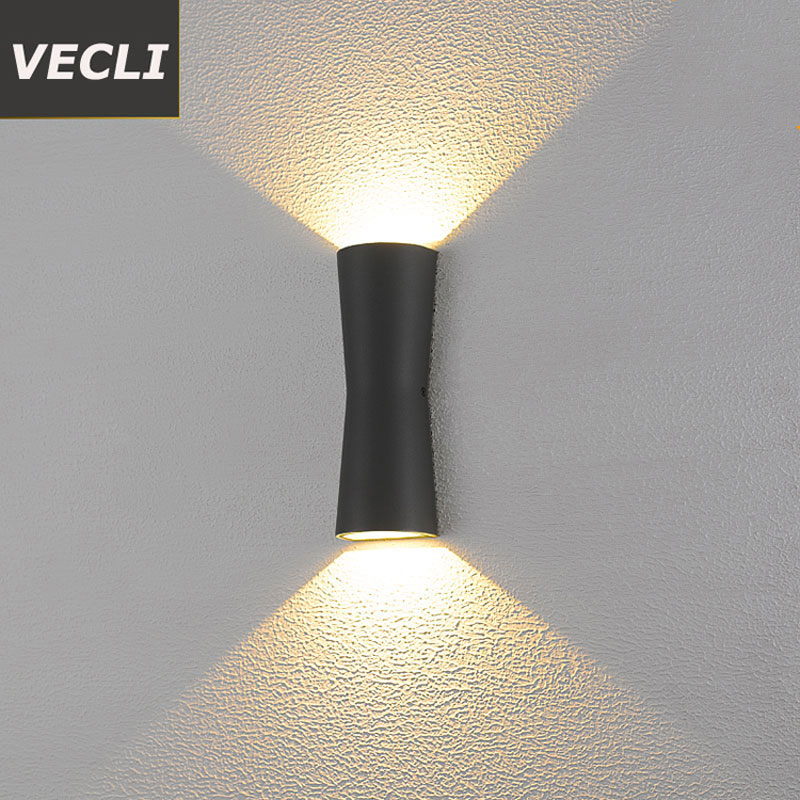 Fashion led outdoor wall lamp corridor courtyard porch exterior sconce waterproof garden residential villa light