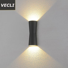 Fashion led outdoor wall lamp corridor courtyard porch exterior sconce waterproof garden residential villa garden light fashion outside decorative wall light waterproof buitenlamp residential villa outdoor lighting villa corridor balcony wall lamp