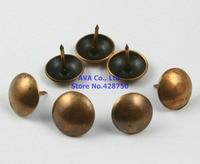 200 sztuk 11x11mm antyczne miedzi materiał tapicerski gwoździe w Pinezki od Majsterkowanie na