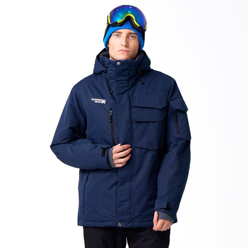 Qualidade com Capuz Rio Homens Marca Snowboard Capuz