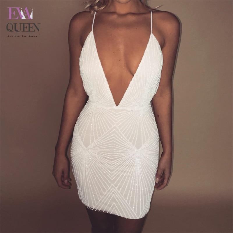 Descubierta Club Tobinoone Vestido Mujer Sexy Correa Mini De Espalda c3lTFK1J