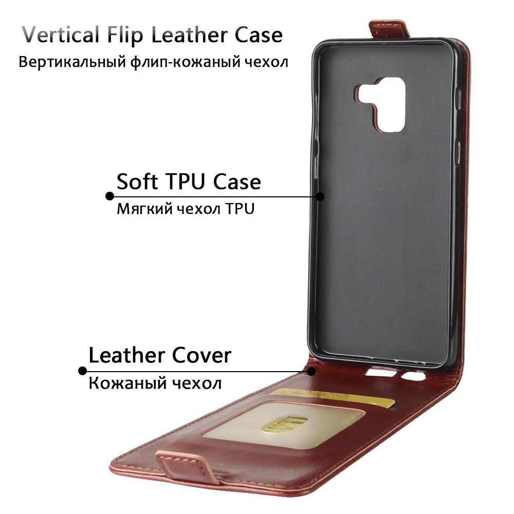 JONSNOW брендированный флип-чехол из кожи для samsung A8 2018 чехол для телефона чехол для samsung J2 Pro 2018 J4 2018 J6 2018 Магнитный со слотом для карт