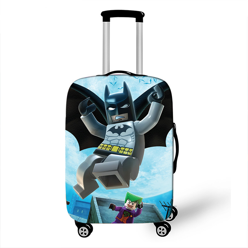 18-32 Inch Batman Ninja Travel Suitcase Protective Cover Luggage Case Travel Accessories Elastic Luggage Dust Cover