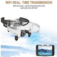 mini rc drone WIFI real time transmit 2.4G 6-axis 4CH set Altitude helicopter with HD Camera WiFi FPV Gyro RC Quadcopter