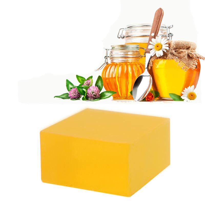 New 1pc 100% Handmade Soap Whitening Peeling Glutathione Arbutin Honey Kojic Acid Soap