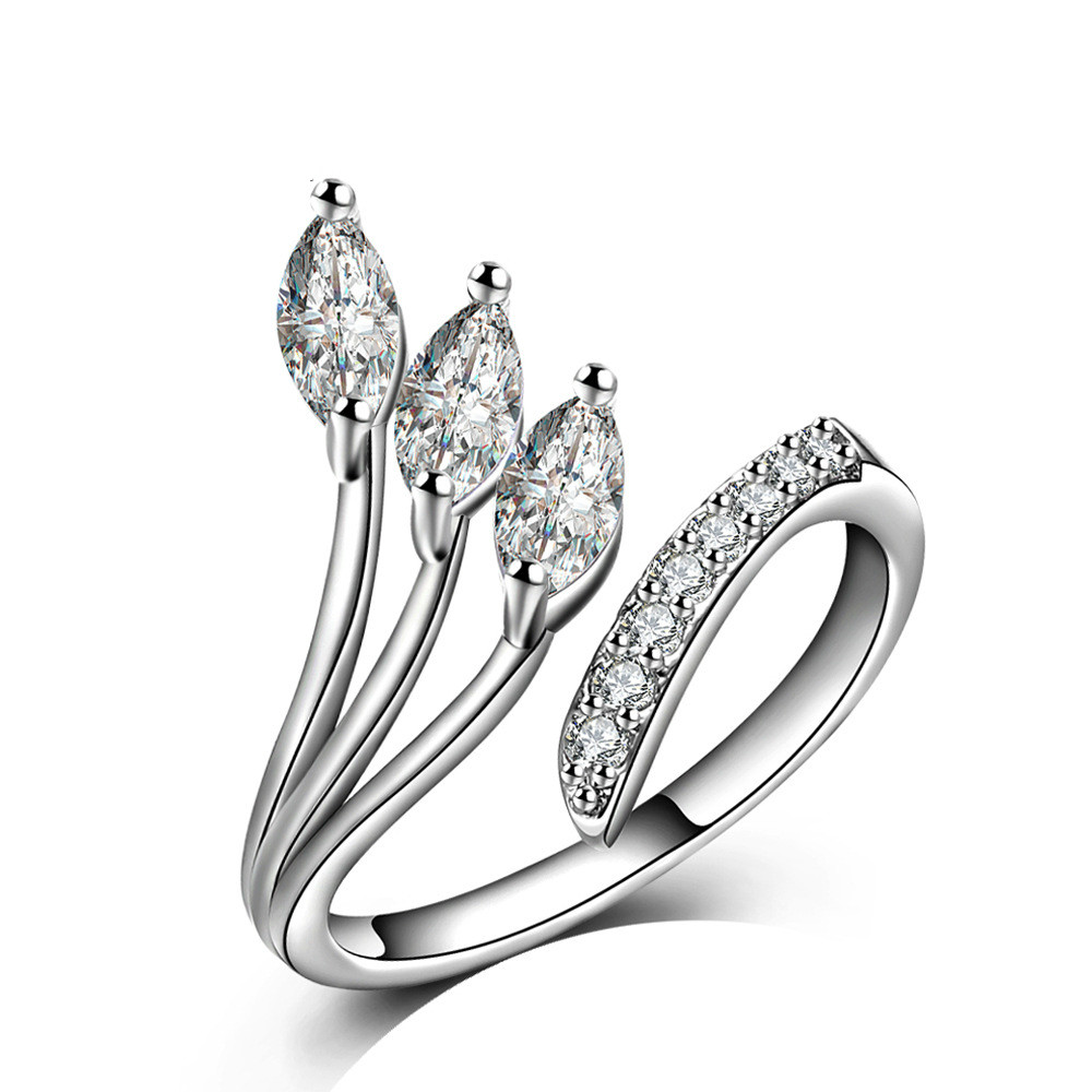 Pure 925 Anillos Silver Rings For Women Wedding Rings Original Jewelry JZ93 Anillos Mujer Bague Argent 925 Femme Anel