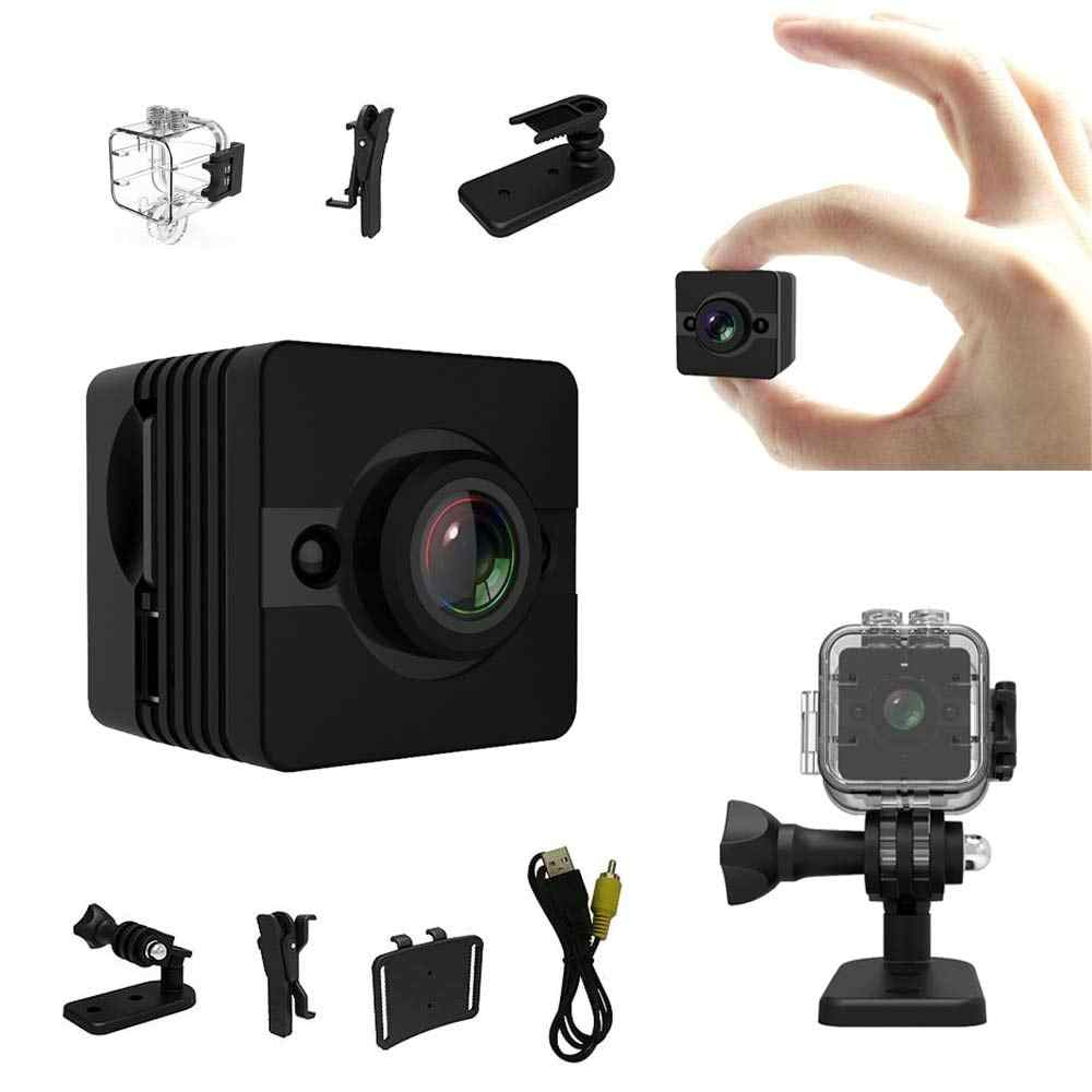 SQ 12 Waterproof Mini Camera 720p cam Night Vision Wide Angle lens Mini Camcorder DV Voice Video Recorder Action Camera SQ12