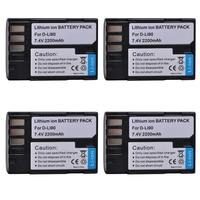4pcs 2200mAh D LI90 DLI90 D LI90 Digital Li ion Camera Battery For PENTAX K 7 K 7D K 5 K 5 II 645D K01 K 3 K 3 II 645Z L15
