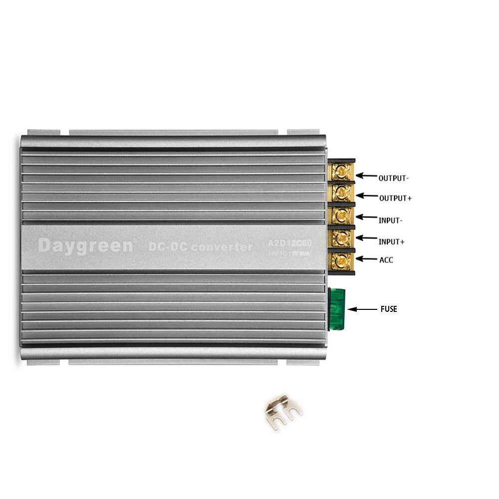 24 V a 12 V 13,8 V 1.5A 5A 10A 15A 20A 30A 40A 60A DC convertidor paso buck regulador de voltaje transformador Daygreen gratis