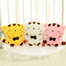 Cartoon Cute Doll Cat Plush Stuffed Cat Toys 19CM Birthday Gift Cat High 7.5 Inches Children Toys Plush Dolls gift for girl