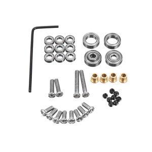 Image 2 - アップグレード金属ギアブリッジ車軸ため WPL 1 C14/C24 JJRC B14/B24 とネジ Rc トラック Rc カー部品