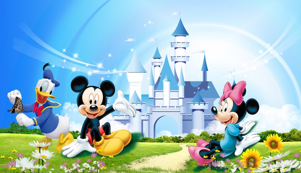SHENGYONGBAO Art Cloth Backdrops for Photography Mickey Mouse Photo Studio Background NML-1083 shengyongbao 2m x 3m vinyl custom photography backdrops prop photography studio background mh15