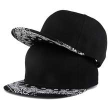 Mens Women Baseball Hats Black Printing Gorras Hip Hop Hat Adjustable Outdoor Fashion Cap for Adult