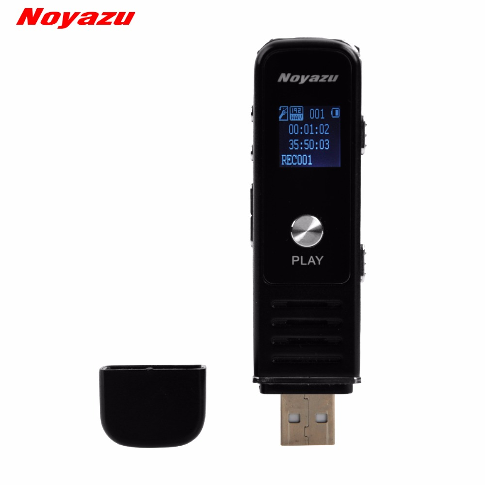 Noyazu 905 16 GB Gravador de Voz Unidade Flash Usb Mini Digital - Áudio e vídeo portáteis