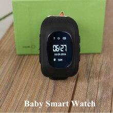 Bebé Inteligente Reloj Q50 Niños Reloj de la Pantalla OLED de Localización GPS con Sensor de Llamada SOS Reloj Localizador Del Buscador anti-perdida perseguidor del Reloj