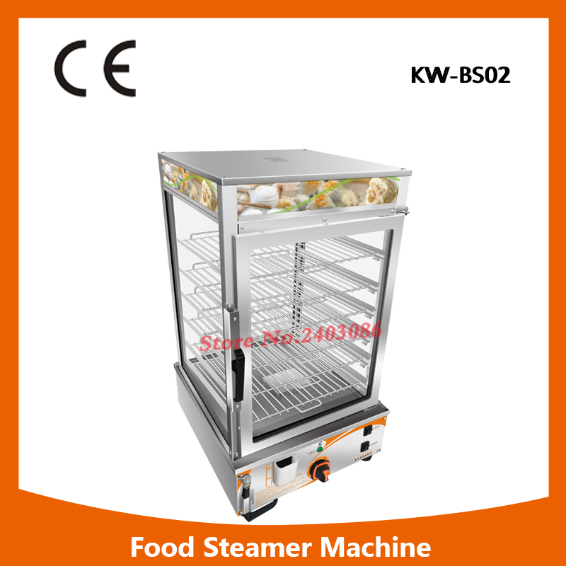 KW-BS02 portable 6 tier food warmer machine bun steamer cooker stainless steel food heater for sales 220v 600w 1 2l portable multi cooker mini electric hot pot stainless steel inner electric cooker with steam lattice for students