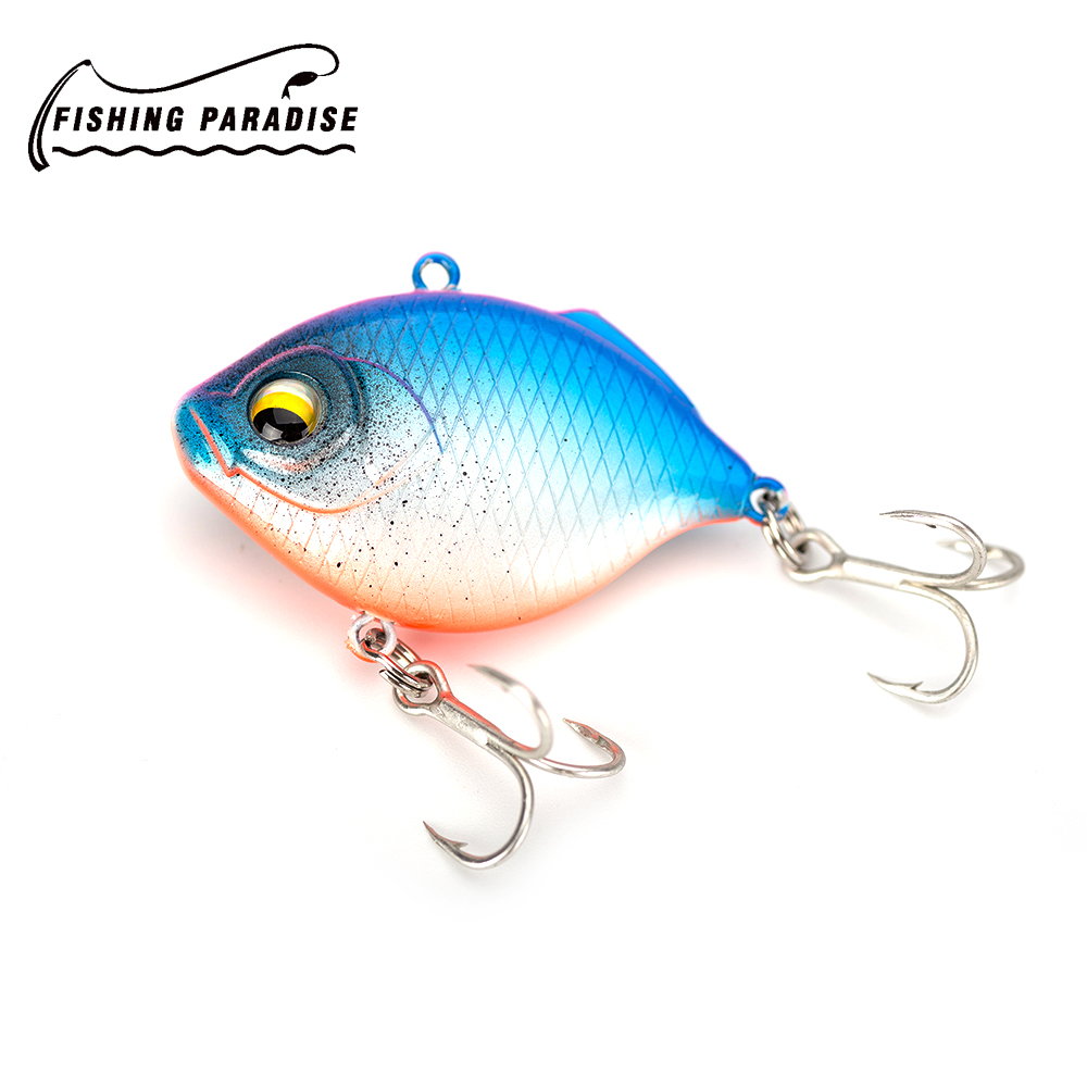 NEW VIB Minnow sinking Fishing Lure Hard Artificial Bait 3D Eyes 4.5cm 8.5g Fishing Wobblers Crankbait Minnows free shipping new arrival outdoor mixed fishing lure set hard bait artificial lure kit wobblers minnow crankbait fishing tools 43 pcs lot