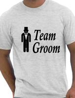 OKOUFEN Custom Design T Shirts Team Groom Stag Night Wedding Funny Size S Xxl Crew Neck