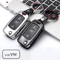 Car Key Case For Volkswagen VW Passat Golf Jetta Bora Polo Sagitar Tiguan Auto Key Bag