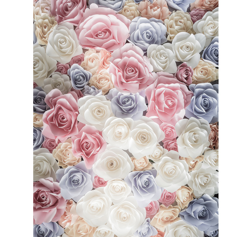 Customized Thin vinyl floral photography backdrops valentine photo backgrounds for photo studio background photophone