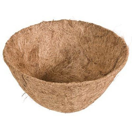 1PC Round Coco Fiber Replacement Liner Flower Pot Garden säsong