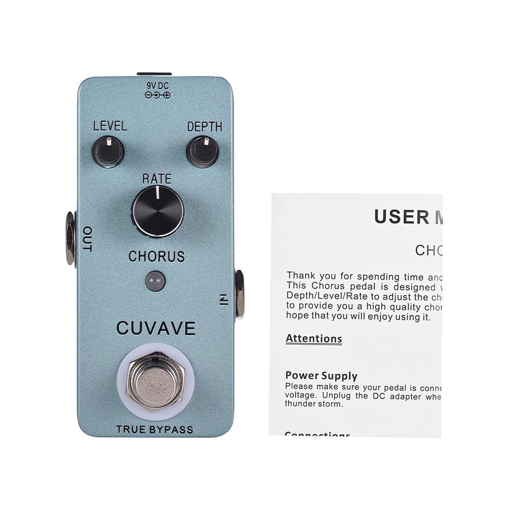 buy chorus guitar effect pedal analog classic chorus guitar pedal true bypass. Black Bedroom Furniture Sets. Home Design Ideas