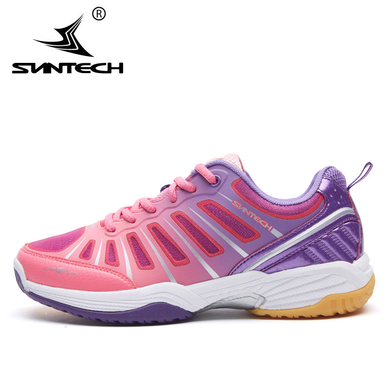 Suntech New Arrival Breathable Women Running Shoes Anti-Slippery Outdoor Sneaker Sport Shoes kelme 2016 new children sport running shoes football boots synthetic leather broken nail kids skid wearable shoes breathable 49