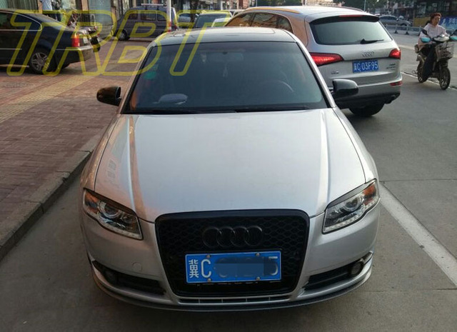 a4 grill a4 b7 racing grills mesh middle grill rs4 front bumper rh aliexpress com