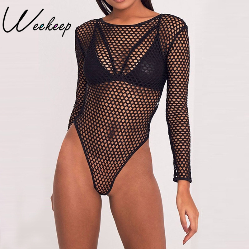 Search For Flights 2018 Slim Long Sleeve Hollow Out Bodysuit Women White Black Spring Lace Hot Bodysuits Jumpsuit Sexy Bodysuit Strappy Rompers Women's Clothing