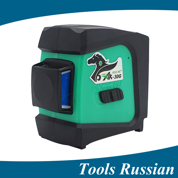 Only Russia ! AK30G ,360 degree self-leveling rotary 1V1H1D Green Laser levels gravity leveling Wall instrument,ak-30g thyssen parts leveling sensor yg 39g1k door zone switch leveling photoelectric sensors