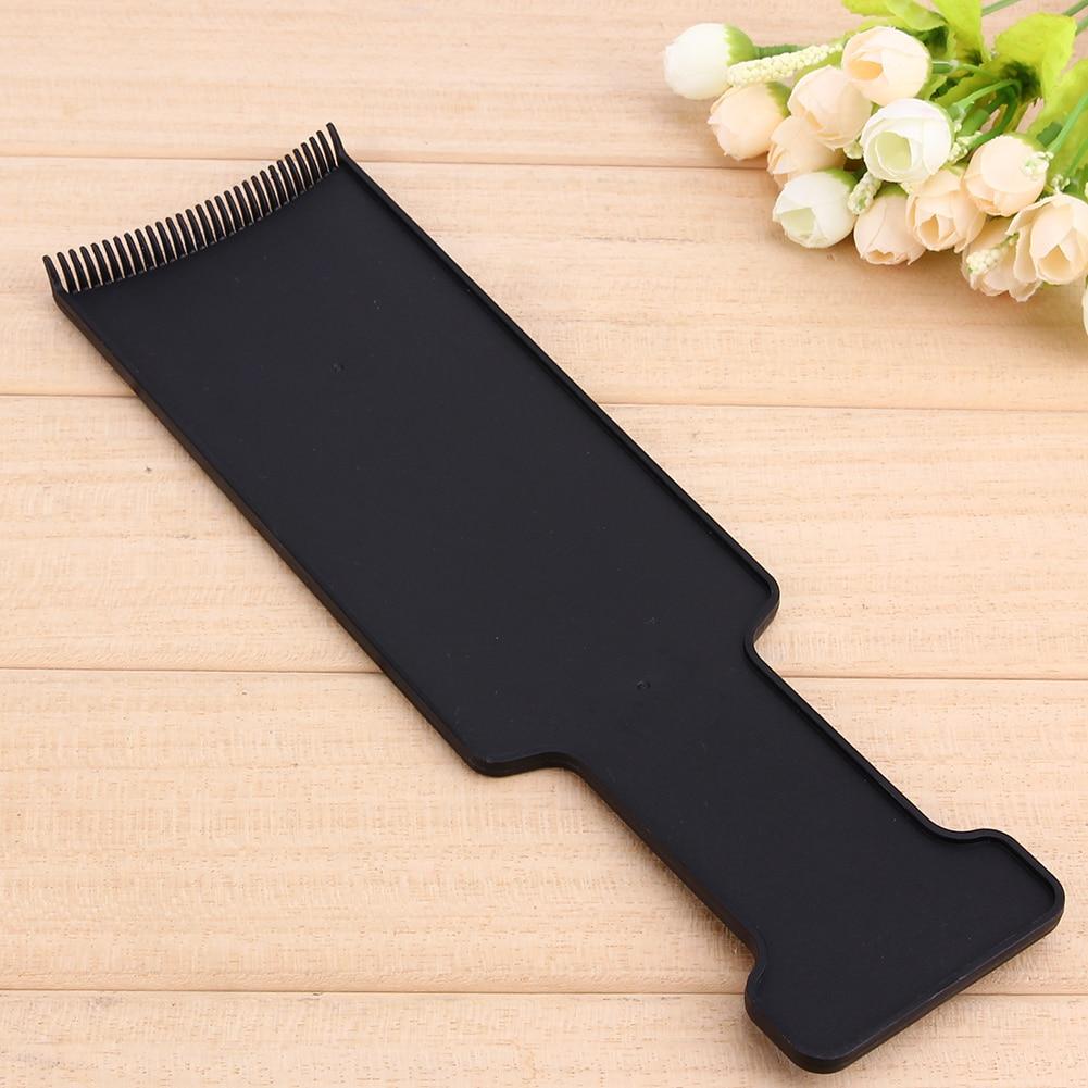27 cm Hairdressing Profesional Papan Panjang Rambut Salon Tint Mewarnai Mewarnai Sisir Rambut Styling Alat Pengeringan Sikat Rambut Sisir Warna di Sisir