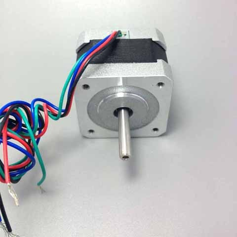 HTB1SQ6KKVXXXXavXVXXq6xXFXXXN - Free shipping NEMA17 0.9degree 42BYGHM381 42HM40-0404 42mm 2Phase Hybrid Stepper Motor 12V 0.4A 4-wire 3.4Kg.cm 40mm 3D printer