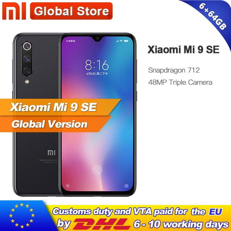 Global Version Xiaomi Mi 9 SE 6GB 64GB Mobile Phone Mi9 SE Snapdragon 712 Octa Core