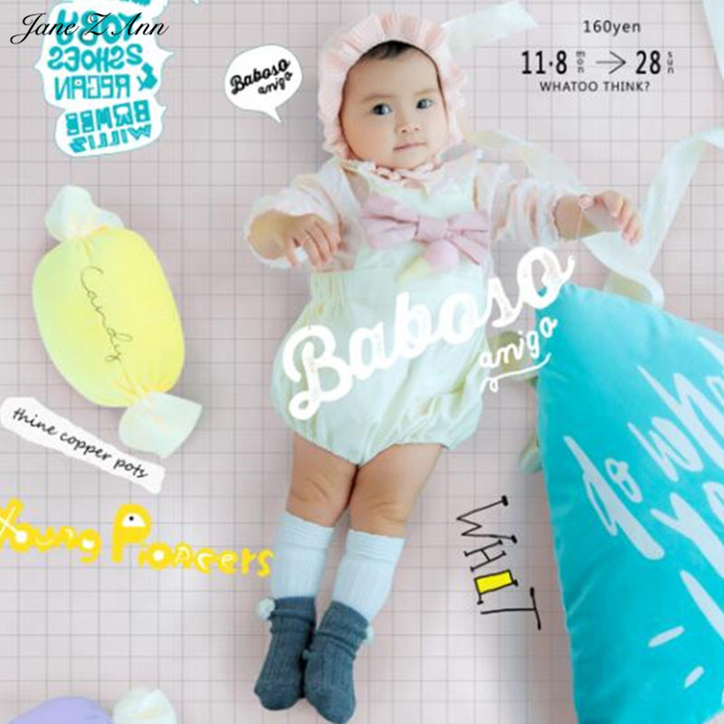 Фотография Jane Z Ann Baby Photography Props Baby candy Theme Background Costume Clothes photo Accessories Infant Studio Shooting Props