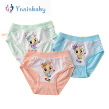 For Girl Underwear Kids Short Briefs Baby Children Underwear Child Cute Cartoon Animal Panties Shorts Underpants 2pcs/set