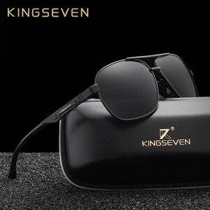 Image 1 - KINGSEVEN 新アルミ真新しい偏光サングラス男性ファッションサングラス走行駆動男性眼鏡 Oculos N7188