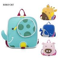 Elephant Children Backpacks 3D Animal Girl Boys Backpack Toddler Kids School Bags Kindergarten Cartoon Bag Mochila Escolar