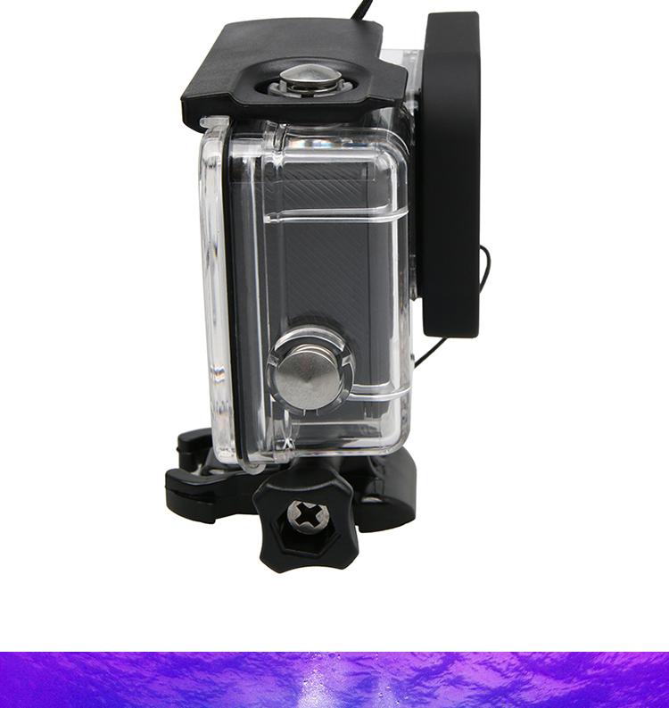 waterproof Case Red Diving Filter lens Dive Underwater Lente Filtors Protector For Go pro Hero Black 5 6 7 Accessories - ANKUX Tech Co., Ltd