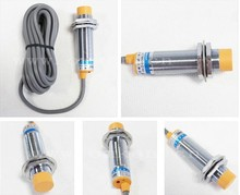 2 pces m18 sensor de proximidade capacitivo 3 fio npn/pnp não/nc 6 36vdc sn 10mm LJC18A3 B Z/bx/ax/by/ay