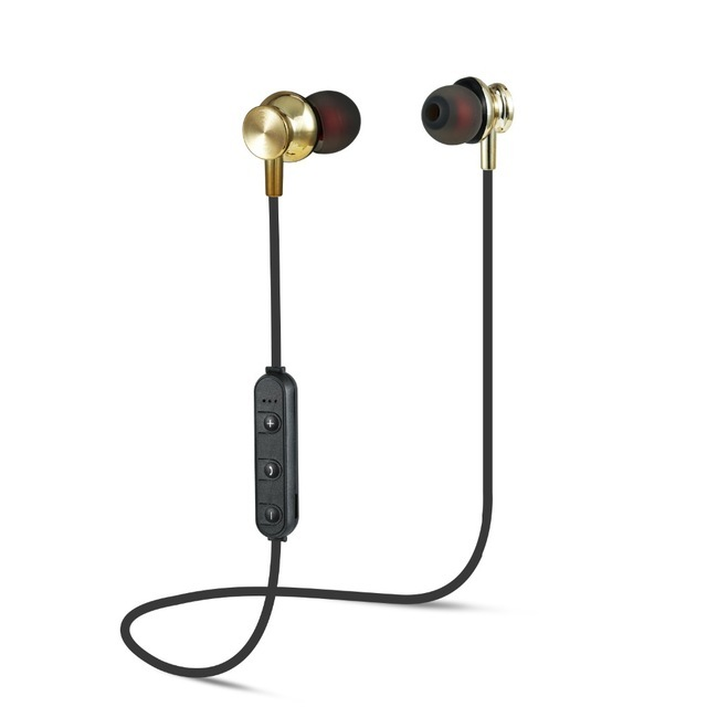 Magnetic attraction Bluetooth Earphone Sport Running Stereo Wireless Bluetooth Headset Noise Reduction Earbuds Earphone