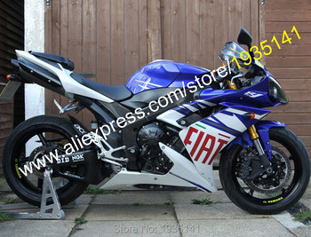 Body For Yamaha YZF1000 YZF R1 2007 2008 YZF-R1 07 08 YZFR1 FIAT ABS Motorcycle Road Fairing Kit (Injection molding)