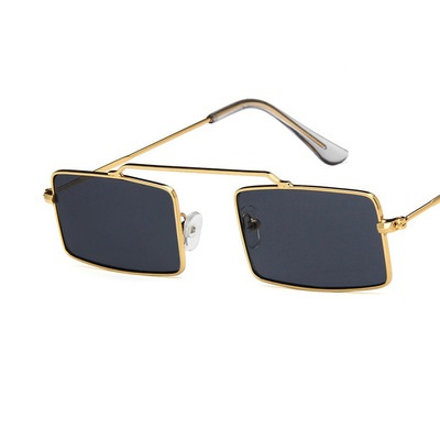 COOLSIR Vintage Sun Glasses Women Men Square Shades Rectangular Frame Sunglasses Gafas Oculos Des Lunettes For Female in Men 39 s Sunglasses from Apparel Accessories